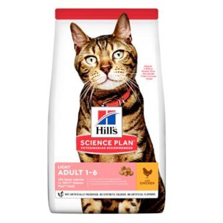 Hill's Fel. Dry Adult Light Chicken 10kg