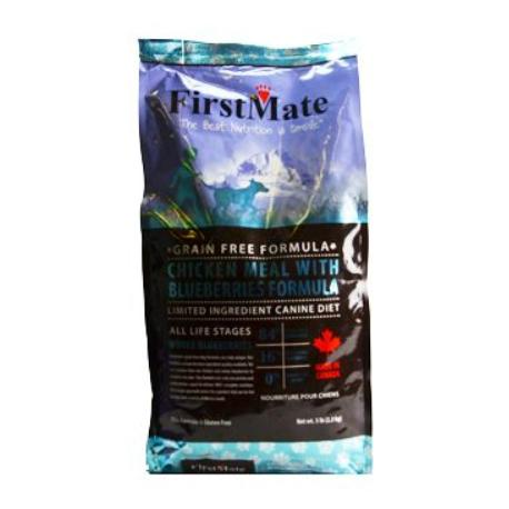 First Mate Dog Chicken& Blueberry 2,3kg