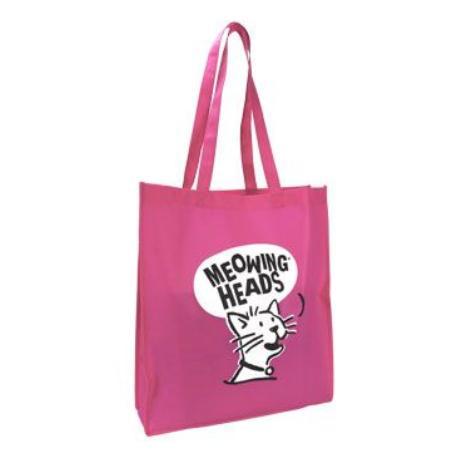 MEOWING HEADS  taška Meowing Heads růžová