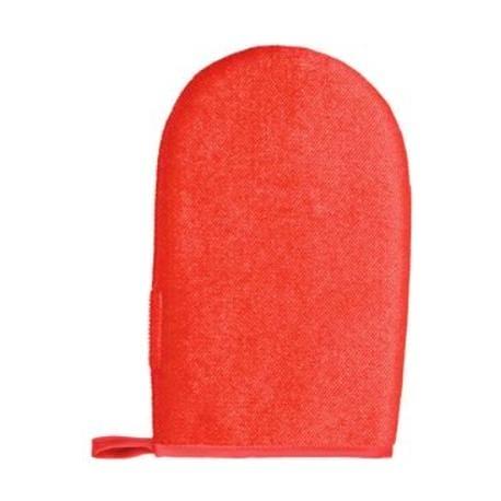 Rukavice na odstranění chlupů oboustranná červená TR