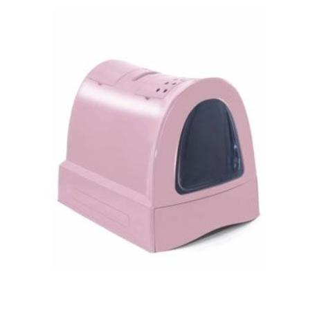 Wc kočka s výsuvnou zásuvkou pro stelivo Růžová IMAC