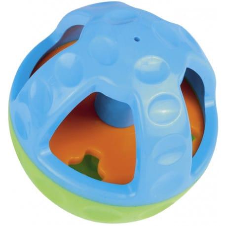 Nobby Active silná hračka s otvorom na maškrty a zvukom 13 cm