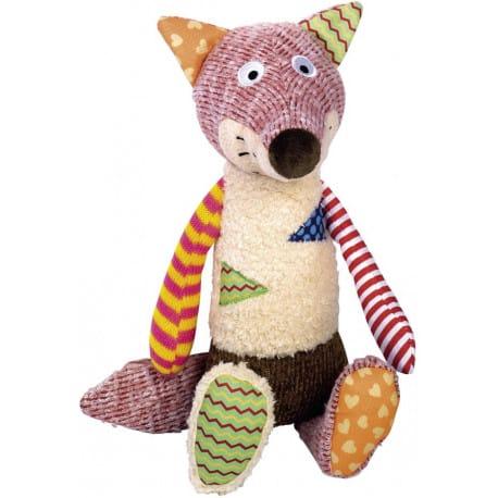 Nobby hračka pre psov líška s pískátkem 33 cm