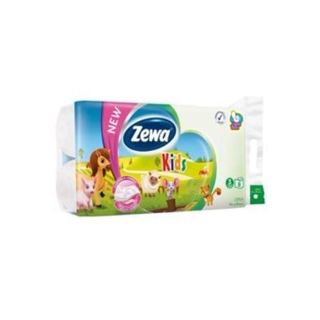 Wc toaletní papír ZEWA Deluxe Aqua Tube Kids 3V 8ks