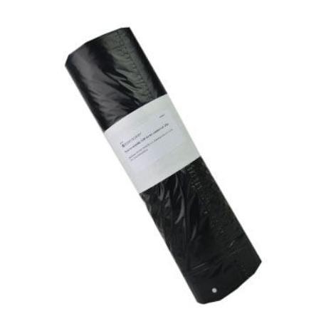 Pytle na odpadky 120l černé,zatahov. 20ks HenrySchein