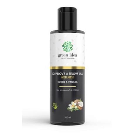 Olej kokosový koupelový TOPVET 200ml