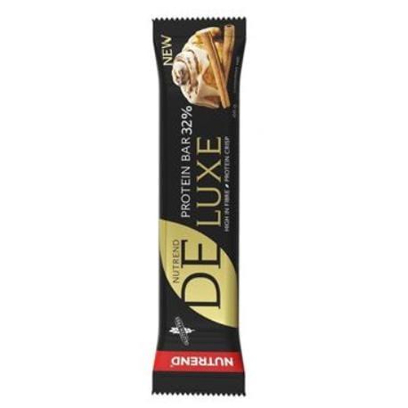 Nutrend DELUXE tyčinka protein skořicový šnek 60g