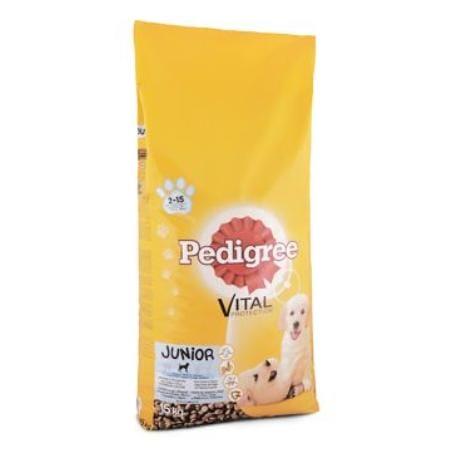 Pedigree Dry Junior šteňa 15kg