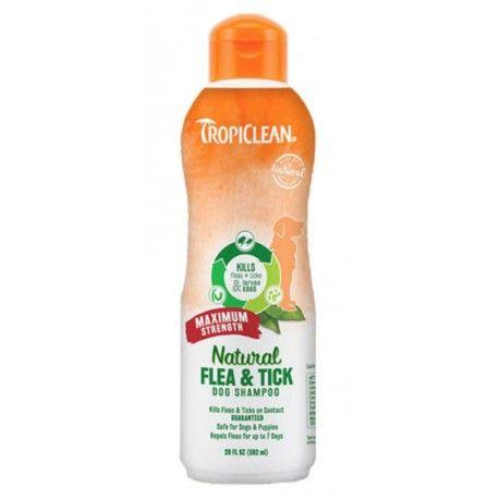 Tropiclean Šampon Flea and Tick Maximum Strength 355ml