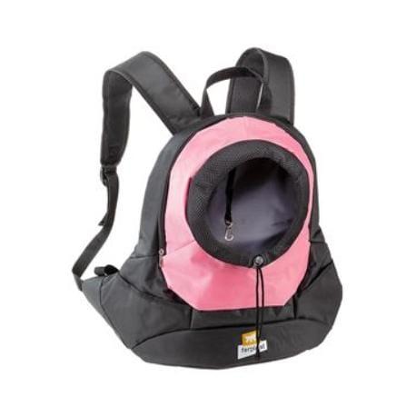 Batoh na psy a kočky KANGOO L růžový FP