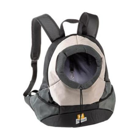 Batoh na psy a kočky KANGOO L šedý FP