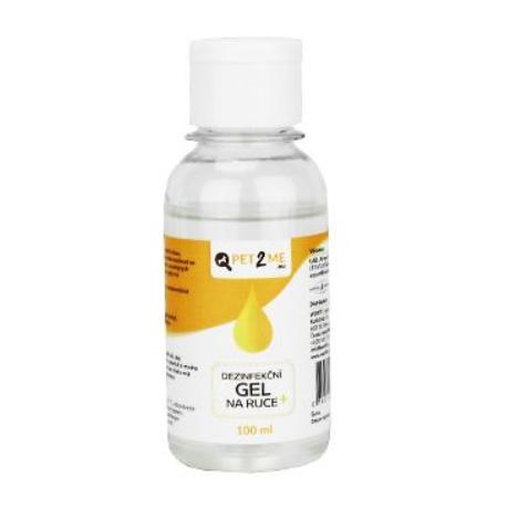 Dezinfekční antibakteriální gel na ruce Pet2Me 100ml
