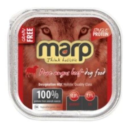 Marp vanička pro psy Angus Beef s hovězím 100g