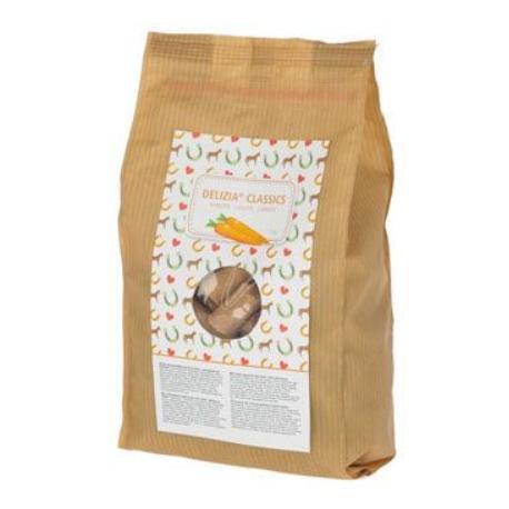 Pochoutka pro koně DELIZIA mrkev 1kg