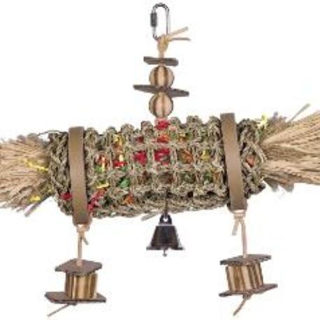 Nobby aktivní hračka pro papoušky mořská řasa cylindr