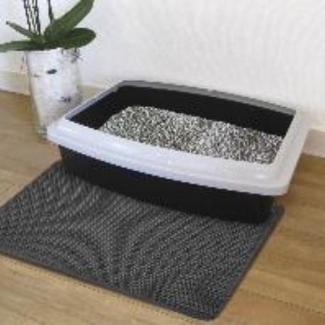 Nobby siťovaná rohož před kočičí toaletu 39x60cm černá