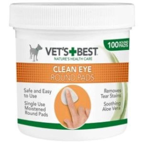 Vets Best NA OČI vlhčené ubrousky na čištění okolí očí