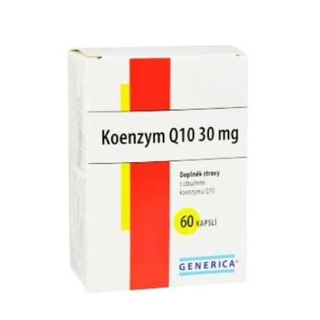 Koenzym Q 10 30mg 60cps Generica