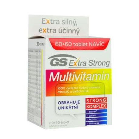 GS Extra Strong Multivitamin 60+60tbl