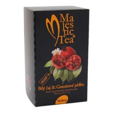 Čaj Majestic Tea Bílý čaj+Granátové jablko 20sacc