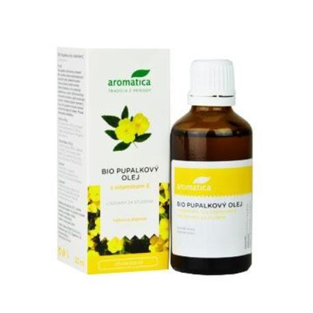 Pupalkový olej BIO vit.E od 3 let 50ml Aromatica