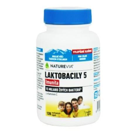 Swiss Laktobacily 5 cps 120