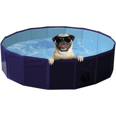 Nobby bazén pre psa skladacie modrý M 120x30cm