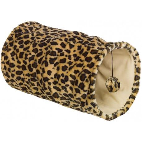 Nobby LEOPARD tunel pre mačky leopardí vzor 25x50cm