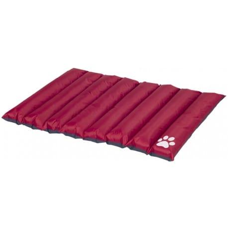 Nobby obojstranná zrolovateľná matrac Anon pre psov červeno-šedá 110x85x8cm