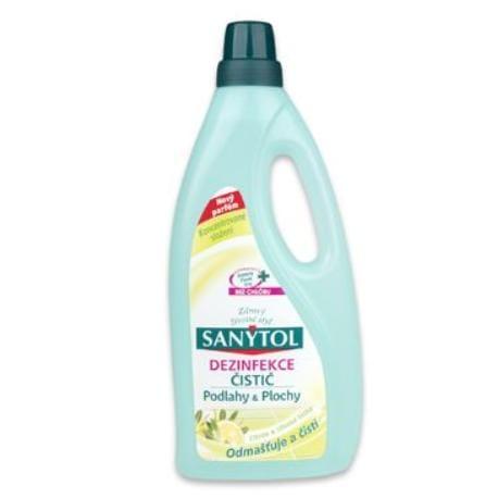 SANYTOL domácnost dezinfekční 1l citron