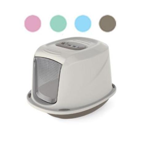 WC kočka Galaxy Deluxe kryté s filt. 45x36x32cm-zelená