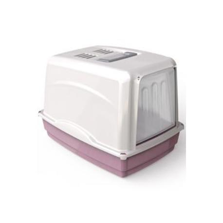WC kočka Vicky kryté s filtrem, 54x39x39cm-růžová