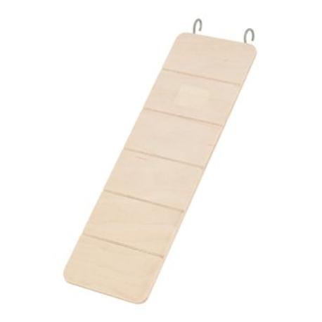 Žebřík pro hlodavce dřevěný 30x9,5cm Zolux