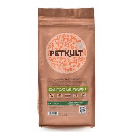 Petkult Dog Mini Adult Lamb & Rice 2kg