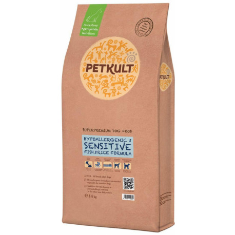 Petkult Dog Sensitive Fish & Rice 14kg