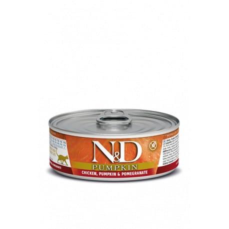 N&D CAT PUMPKIN Adult Chicken & Pomegranate 80g