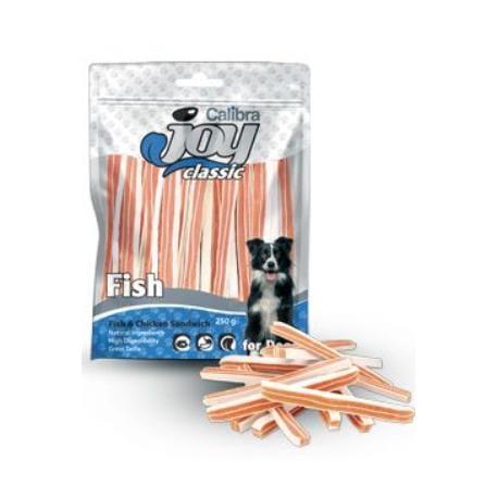 Calibra Joy Dog Classic Fish&Chicken Sandwich 250g NEW