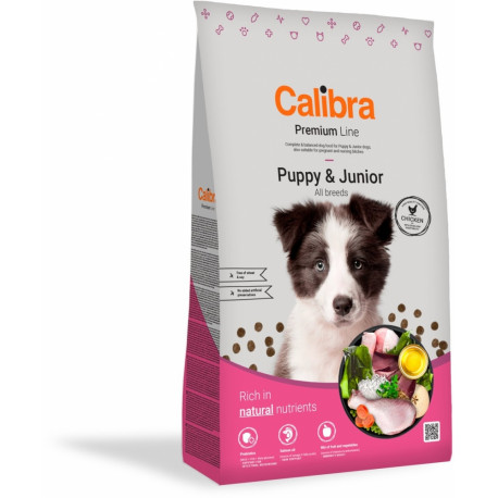 Calibra Dog Premium Line Puppy&Junior 12 kg NEW