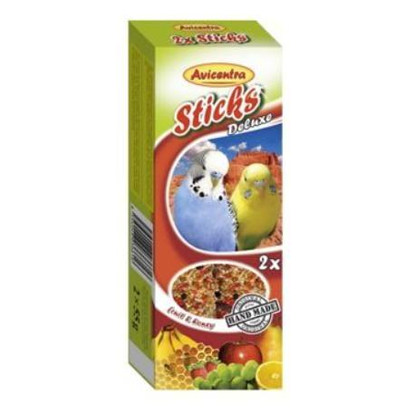 Avicentra tyčinky andulka - ovocie+med 2ks