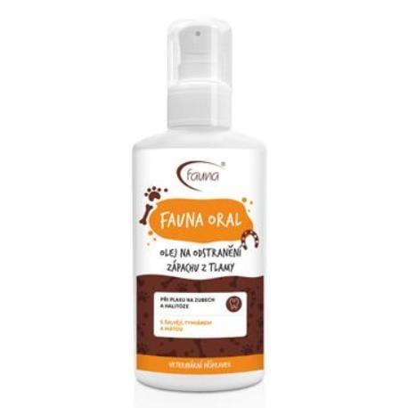 FAUNA ORAL olej proti zápachu z tlamy 100 ml