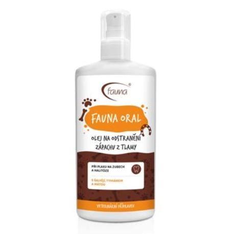 FAUNA ORAL olej proti zápachu z tlamy 200 ml