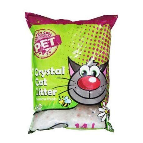 Podestýlka Happy Cool Pet Silica Original 14l s vůní
