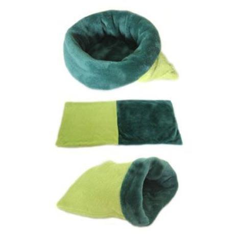 Spací pytel 3v1 sv.zelená/tm.zelená MINI pes,kočka b31