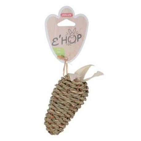 Hračka hlodavec EHOP mrkev z mořské trávy Zolux