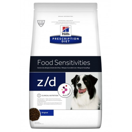 Hill's Can. Dry PD Z/D+AB Ultra Alergen Free 10kg