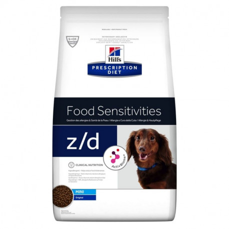 Hill's Can. Dry PD Z/D+AB Ultra Alergen Free Mini1,5kg