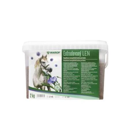 Mikrop Extrudovaný ľan pre kone vedro  2kg