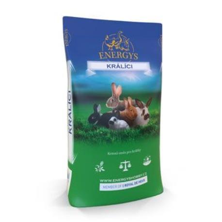 Krmivo pre králíky KLASIK FORTE granulované 25kg