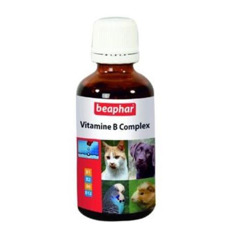 Beaphar Vitamin B Complex pes,kočka,ptáci 50ml