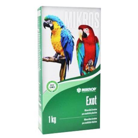 Mikros VGE pre papagáje plv 1kg